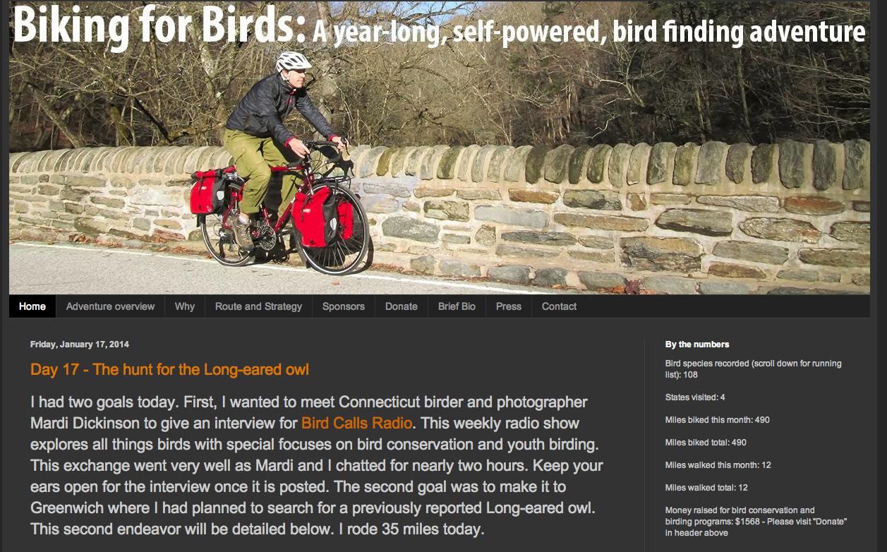 Biking for Birds