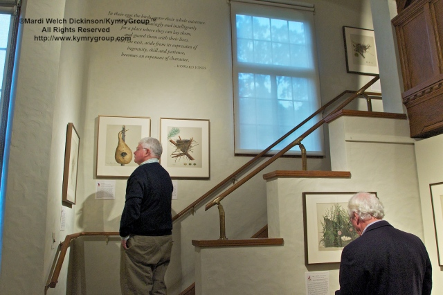 Nests, Eggs, Heartbreak & Beauty exhibition, opening reception and book signing, Museum of American Bird Art at Mass Audubon on 9/29/12. ©Mardi Welch Dickinson/Kymry Group. All Rights Reserved