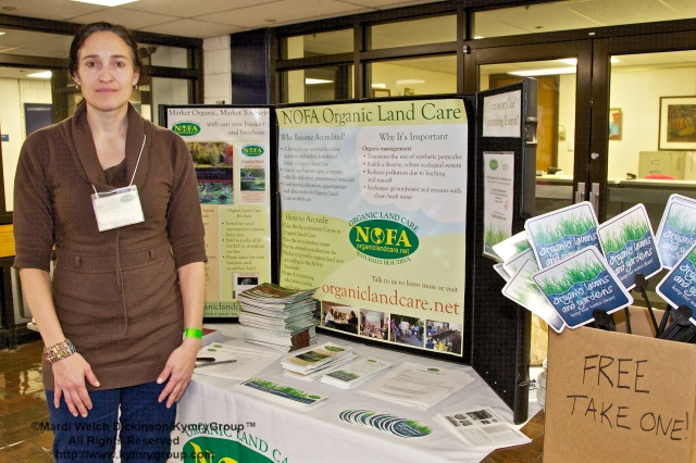 Jenna Messier, NOFA Land Care Program Dirctor. CTNOFA Winter Confdrence 2013, Wilton High School, Wilton, CT. March 2, 2013. ©Mardi WelchDickinson/ KymryGroup™  All Rights Reserved.