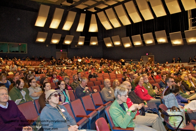 Audience presentations. CTNOFA Winter Confdrence 2013, Wilton High School, Wilton, CT. ©Mardi Welch Dickinson/KymryGroup™All Rights Reserved.