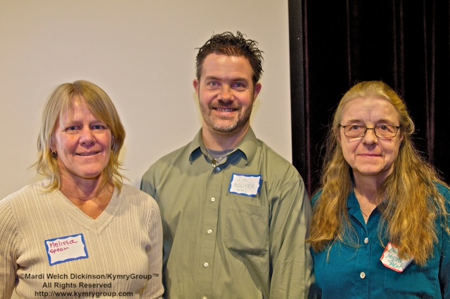 l. to r. Milissa Spear, Executive Director, Common Ground High School, Urban Farm & Environmental Learning Center; James Hunter, WHS Physical Science & AP Enviromental Science, WHS Organic Garden Organizer/ Garden Adviser & CTNOFA Coordinator. Anne Farrel, Farmer, Milstone Farm. An Edible Garden in Every School Workshop. CTNOFA Winter Confdrence 2013, Wilton High School, Wilton, CT. ©Mardi Welch Dickinson/ KymryGroup™ All Rights Reserved.
