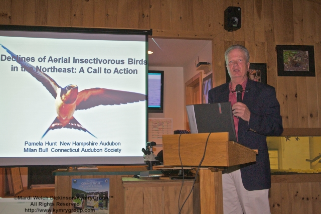 Milan Bull, Director of Science and Conservation,  Connecticut Audubon Society. Guest Speaker at the Friends of Sherwood Island, 15th Annual Meeting held at Sherwood Islands S.P. Nature Center on June 6, 2013. ©Mardi Welch Dickinson / KymryGroup™  All Rights Reserved.