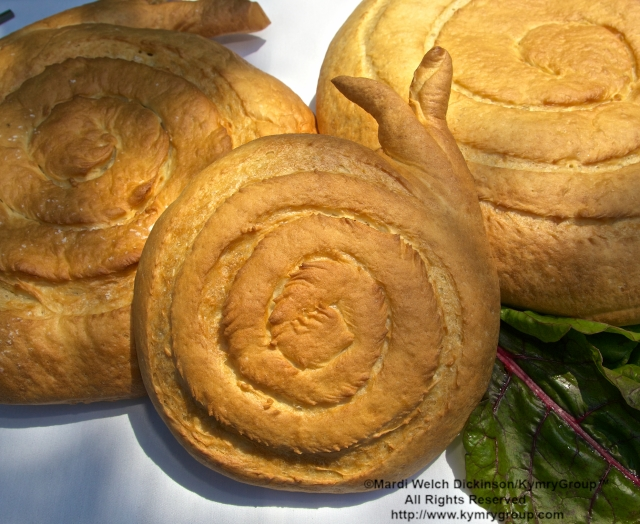 "Snail Bread, Tarry Lodge Westport CT was Awarded the ""Snail Of Approval"" by Slow Food Metro North on June 29, 2003. ©Mardi Welch Dickinson/KymryGroup. All Rights Reserved."