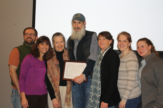 Ted Gilman with National Audubon Staff from Audubon centers in Greenwich, Sharon, Southbury. (contributed)