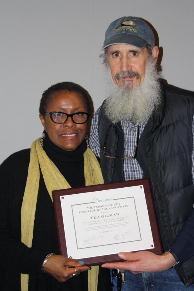 Ted Gilman with Chandra Taylor Smith, VP of Community Conservation and Education for National Audubon Society. (contributed)