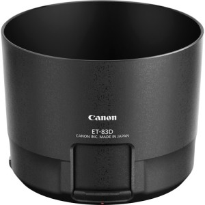 ET-83D Lens Hood which allows easy access to your filters such as a Circular Polarizer.
