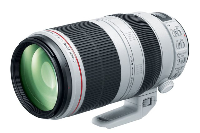 NEW Canon EF 100-400mm f/4.5-5.6L IS II USM. Annouced by Canon U.S.A on November 10, 2014.