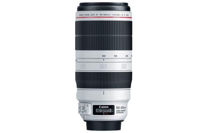 NEW Canon EF 100-400mm f/4.5-5.6L IS II USM. Canon U.S.A. Melville, N.Y., Nov 10, 2014.