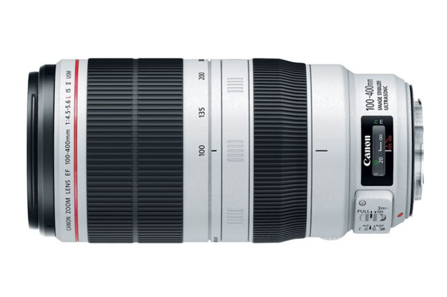 NEW Canon EF 100-400mm f/4.5-5.6L IS II USM. Canon U.S.A. Melville, N.Y., Nov 10, 2014.