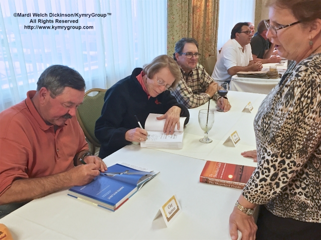 L. to R. Clay and Pat Sutton, at the Cape May Fall Festival 2015 Book Signing Event, Grand Hotel, Cape May NJ. ©Mardi Welch Dickinson /KymryGroup. All Rights Reserved.